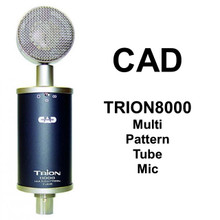 CAD Trion8000 Multi Pattern Dual Diaphragm Tube Studio Microphone $20 Instant Coupon Use Promo Code: $20-Off
