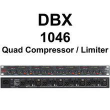 DBX 1046 Quad Compressor Limiter Processor $30 Instant Coupon Use Promo Code: $30-Off