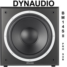 DYNAUDIO BM14S II 300w Ultra Low End Active Studio Sub $75 Instant Coupon Use Promo Code: $75-OFF