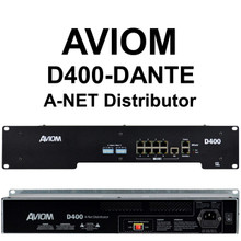 AVIOM D400-DANTE Personal Audio Mixer A-Net Distribution $50 Instant Coupon Use Promo Code: $50-OFF