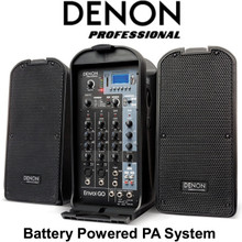 DENON ENVOI GO Portable Battery Powered PA System $25 Instant Coupon Use Promo Code: $25-OFF