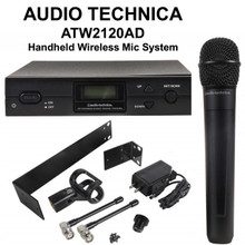 AUDIO TECHNICA ATW2120AD Wireless Handheld Microphone Rackmount System $20 Instant Coupon Use Promo Code: $20-OFF