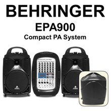 BEHRINGER EPA900 8 Channel 900w Compact PA System $20 Instant Coupon Use Promo Code: $20-OFF