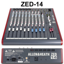 ALLEN & HEATH ZED-14 14 Channel USB Sonar X1 LE Software Live Recording Mixer