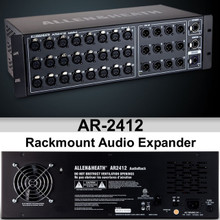 ALLEN & HEATH AR-2412 Digital Rackmount Expansion Audio Interface Module