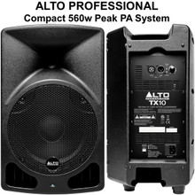 ALTO PROFESSIONAL TX10 560w Total Peak Power Compact Lightweight PA System $15 Instant Coupon Use Promo Code: $15-OFF