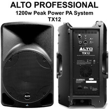 ALTO PROFESSIONAL TX12 1200w Total Peak Power PA System $20 Instant Coupon Use Promo Code: $20-OFF