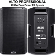 ALTO PROFESSIONAL TS212 2200w Total Peak Power PA System $20 Instant Coupon Use Promo Code: $20-OFF