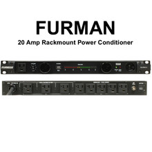 FURMAN PL-PRO-C Dual LED Light Voltmeter 20A Power Conditioner with USB Charger $40 Instant Coupon Use Promo Code: $40-OFF
