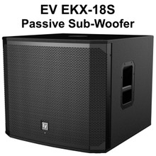 "EV EKX-18S Passive Big Bottom 18"" Sub-Woofer $35 Instant Coupon Use Promo Code: $35-OFF"