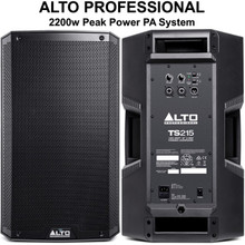 ALTO PROFESSIONAL TS215 2200w Total Peak Power PA System $20 Instant Coupon Use Promo Code: $20-OFF