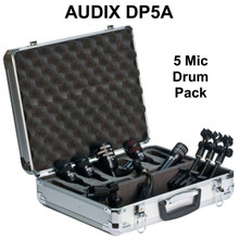 AUDIX DP5A Professional Studio / Touring Drum Mic Pack with Case $35 Instant Coupon Use Promo Code: $35-OFF