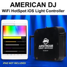 AMERICAN DJ AIRSTREAM BRIDGE DMX WiFi HotSpot iOS APP Light Controller $20 Instant Coupon Use Promo Code: $20-OFF