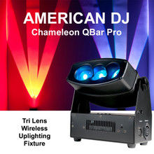 AMERICAN DJ CHAMELEON QBAR PRO Tri Lens Wireless Uplighting FX Fixture $15 Instant Coupon Use Promo Code: $15-OFF