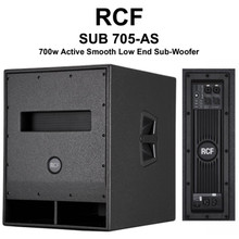 "RCF SUB 705-AS Active Smooth Low End 15"" Sub-Woofer $100 Instant Coupon Use Promo Code: $100-OFF"