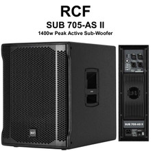 "RCF SUB 705-AS II 1400w Peak Active 15"" Sub-Woofer $50 Instant Coupon Use Promo Code: $50-OFF"