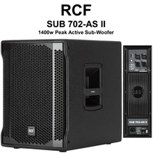"RCF SUB 702-AS II 1400w Peak Active 12"" Sub-Woofer $40 Instant Coupon Use Promo Code: $40-OFF"