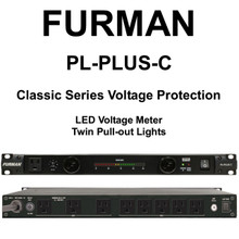 FURMAN PL-PLUS-C Classic Series 15A Dual Light LED Voltmeter Rackmount Power Conditioner $10 Instant Coupon Use Promo Code: $10-OFF