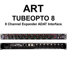 ART TUBEOPTO 8 Channel Rackmount Digital Preamp Expander ADAT Interface  $10 Instant Coupon Use Promo Code: $10-Off