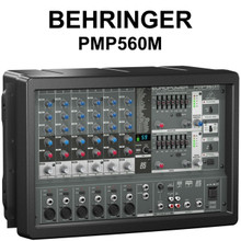 BEHRINGER PMP560M 10 Channel 500w Powered FX Feedback Detector Audio Mixer $20 Instant Coupon Use Promo Code: $20-Off