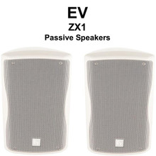 EV ZX1 White Passive PA Speaker System Pair $30 Instant Coupon Use Promo Code: $30-OFF