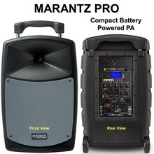 MARANTZ PRO VOICE ROVER Compact Lightweight Battery Powered PA System $30 Instant Coupon Use Promo Code: $30-OFF