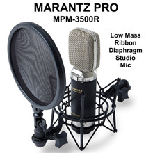 MARANTZ PRO MPM-3500R Ribbon Diaphragm Studio Vocal Mic $10 Instant Coupon Use Promo Code: $10-OFF