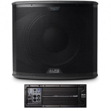 ALTO PROFESSIONAL BLACK 15SUB 2400w Total Peak Active Wireless Sub-Woofer $25 Instant Coupon Use Promo Code: $25-OFF