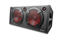 "ION ROAD WARRIOR 500w Rechargeable Stereo Bluetooth 2x10"" Speaker System $10 Instant Coupon Use Promo Code: $10-OFF"