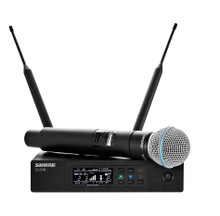 SHURE QLXD24/B58A Handheld Rackmount Digital Wireless Mic System $25 Instant Coupon Use Promo Code: $25-OFF