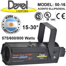 DEXEL ACENTO Professional Ellipsoidal 15-30 or 25-50 Degree Zoom Spotlight $20 Instant Coupon Use Promo Code: $20-OFF