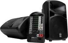 YAMAHA STAGEPAS 600i Powered PA System with Cables, Carry Bag and Optional Speaker Stands $30 Instant Coupon Use Promo Code: $30-OFF