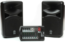 YAMAHA STAGEPAS 400i Powered PA System with Cables, Carry Bag and Optional Speaker Stands $30 Instant Coupon Use Promo Code: $30-OFF