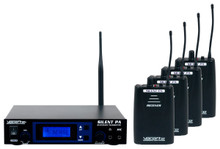 VOCOPRO SILENTPA-PRACTICE Wireless Audio Broadcast System with 4 Receivers $20 Instant Coupon Use Promo Code: $20-OFF