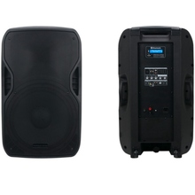 AMERICAN AUDIO ELS-GO15BT Active Re-chargeable Bluetooth PA Speaker System Pair with Built-in MP3 Player $20 Instant Coupon use Promo Code: 20-OFF