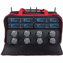 VOCOPRO UDH-CHOIR-8-MIB Church Choir 8 Mic Wireless System in Carry Case $20 Instant Coupon Use Promo Code: $20-OFF