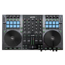 GEMINI G4V 4 Deck DJ Controller with USB Audio Interface $10 Instant Coupon use Promo Code: $10-OFF
