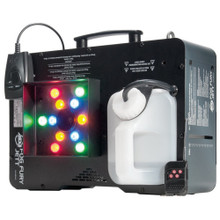 AMERICAN DJ FOG FURY JETT Multi-Position Vertical Fog Machine with 12x3W LED Lights $15 Instant Coupon use Promo Code: $15-OFF