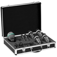 AKG CONCERT 1 Professional Touring 7 Mic Drum Pack with Travel Case $20 Instant Coupon use Promo Code: $20-OFF