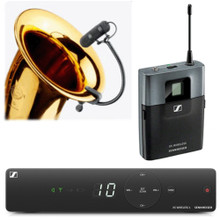 SENNHEISER XSW1-908-A BRASS SET Gooseneck Wireless System $10 Instant Coupon use Promo Code: $10-OFF