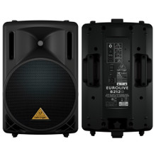 "BEHRINGER B212D Active Lightweight 1100w 12"" PA Speaker System Pair $10 Instant Coupon Use Promo Code: $10-OFF"