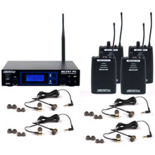 VOCOPRO SILENTPA-IN-EAR-BAND Wireless Audio Rehearsal System with 4 Receivers & Earbuds $20 Instant Coupon Use Promo Code: $20-OFF