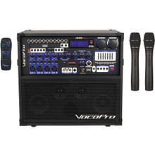VOCOPRO HERO-REC 3 All-In-One Recording / Entertainment System with 2 Wireless Mics & Remote $30 Instant Coupon Use Promo Code: $30-OFF