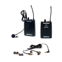 VOCOPRO SILENTPA-IN-EAR-AIR Personal Wireless System with Bodypack Transmitter, Receiver, Lavalier & Earbuds $5 Instant Coupon Use Promo Code: $5-OFF