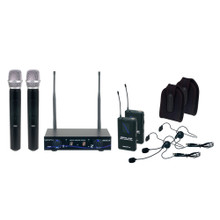 VOCOPRO DIGITAL-32-ULTRA Mix & Match 4 Mic & Instrument Wireless System $5 Instant Coupon Use Promo Code: $5-OFF