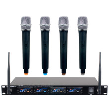 VOCOPRO UHF-5816 (4) Receiver Wireless Rackmount System with (4) Handheld Mics $10 Instant Coupon use Promo Code: $10-OFF