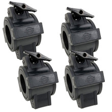 "ADJ O-CLAMP 1.5  (4 Pack) 360 Degree Wrap-Around Light Duty Clamps for 1-1/2"" Truss"
