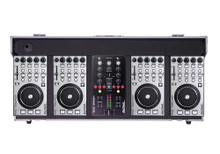 DJ TECH HYBRID101 Professional 4 Deck & Mixer in ATA Flight Case $30 Instant Coupon use Promo Code: $30-OFF