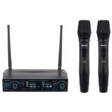 VOCOPRO DIGITAL-2H Dual Lithium-Ion Rechargeable Handheld Wireless Mic System $5 Instant Coupon use Promo Code: $5-OFF