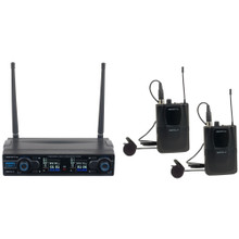VOCOPRO DIGITAL-2C Dual Digital Wireless Lavaliere System $5 Instant Coupon use Promo Code: $5-OFF